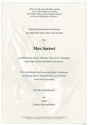 Max Sartori