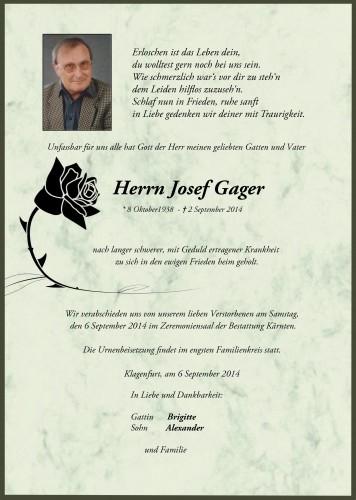 Josef Gager