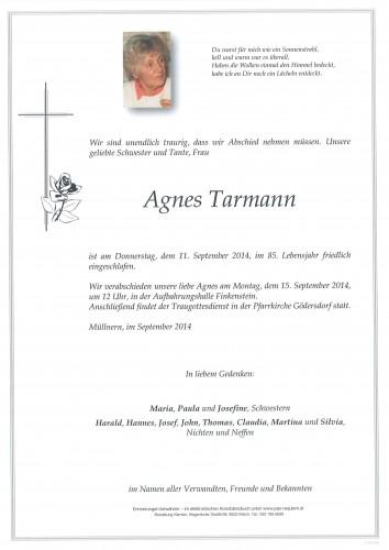 Agnes Tarmann