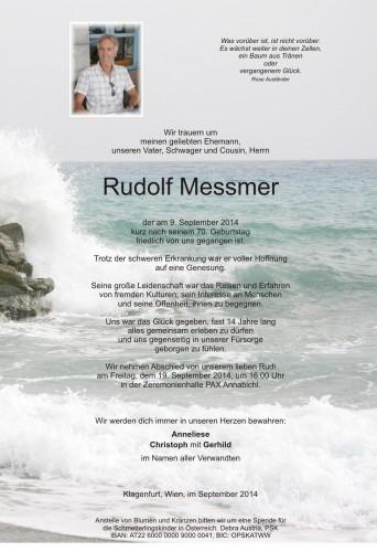 Rudolf Messmer