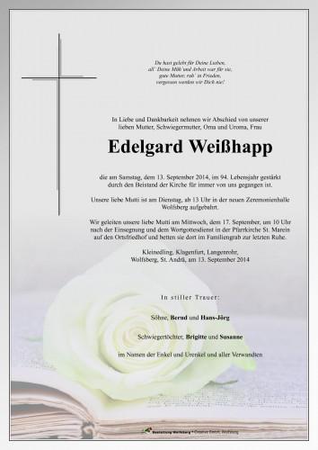 Edelgard Weißhapp
