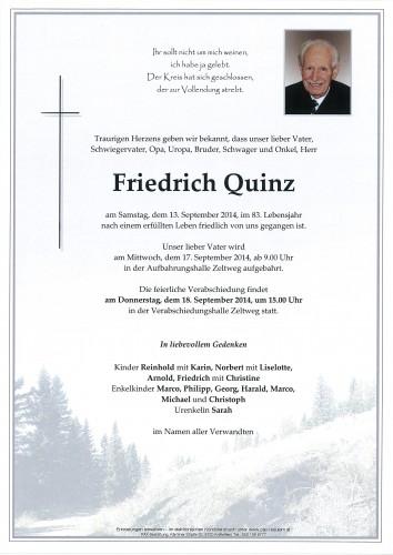 Friedrich Quinz