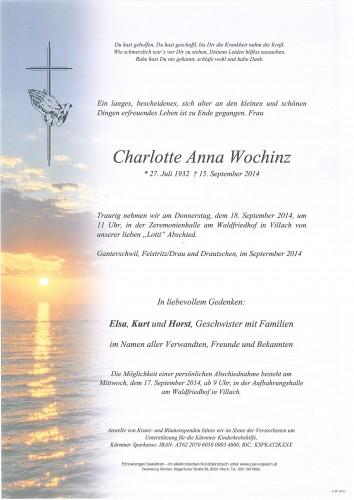 Charlotte Anna Wochinz