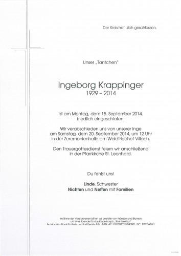 Ingeborg Krappinger