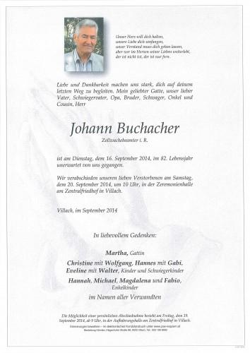 Johann Buchacher