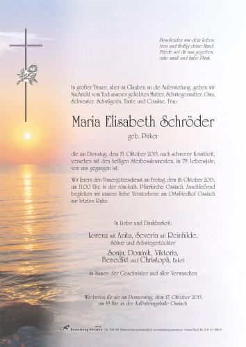 Maria Elisabeth Schröder