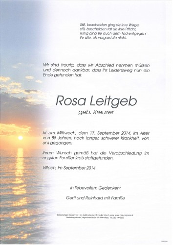 Rosa Leitgeb