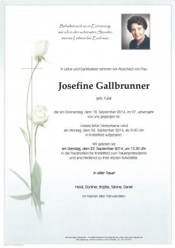 Josefine Gallbrunner