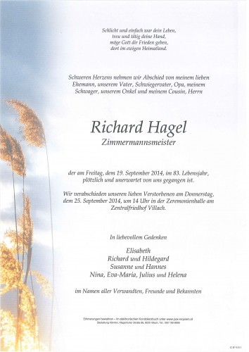 Richard Hagel