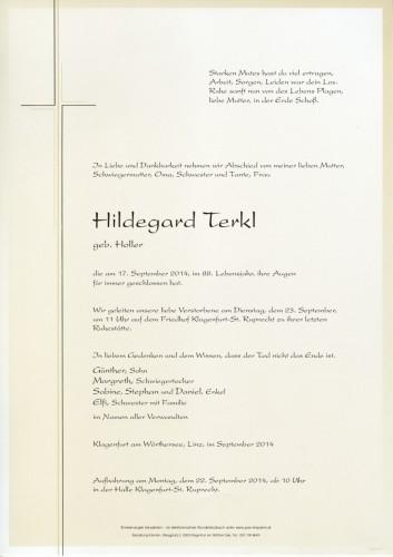 Hildegard Terkl