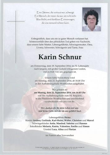 Karin Schnur