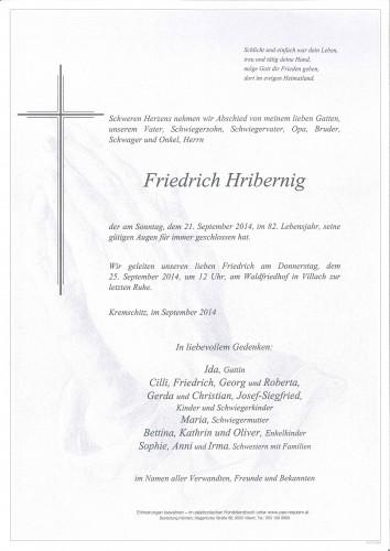 Friedrich Hribernig