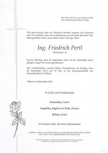 Ing. Friedrich Pertl