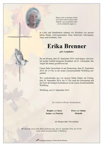 Erika Brenner