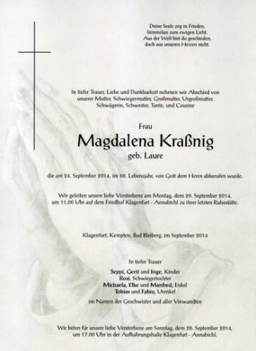 Kraßnig Magdalena