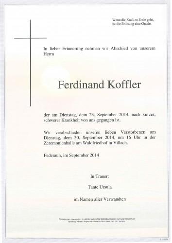Ferdinand Koffler