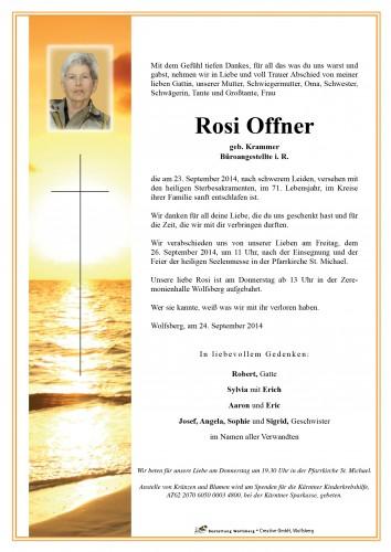 Rosina Offner