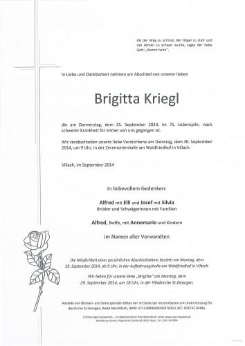Brigitta Kriegl