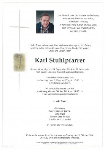 Karl Stuhlpfarrer