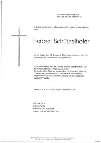 Herbert Schützelhofer