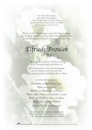 Elfriede Broucek