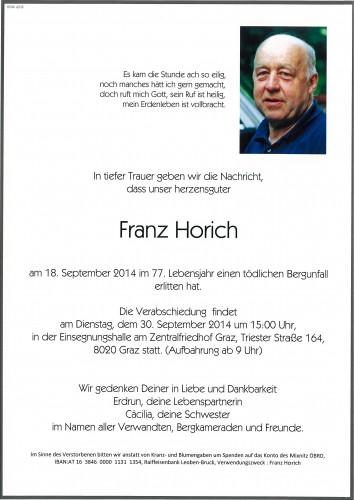 Franz Horich