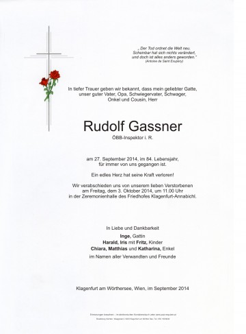 Rudolf Gassner