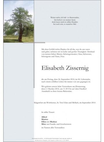 Elisabeth Zissernig
