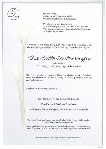 Charlotte Unterweger