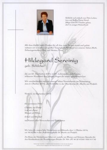 Hildegard Sereinig