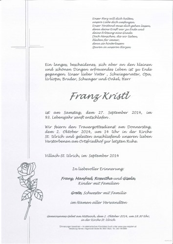 Franz Kristl