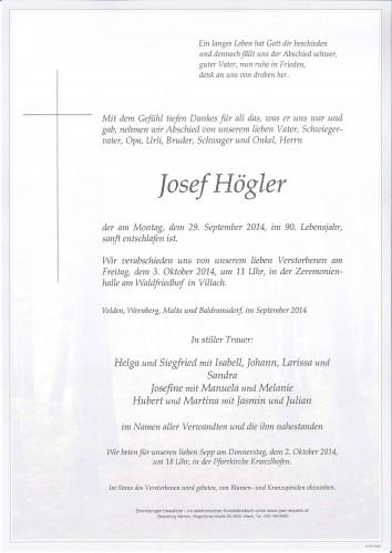 Josef Högler
