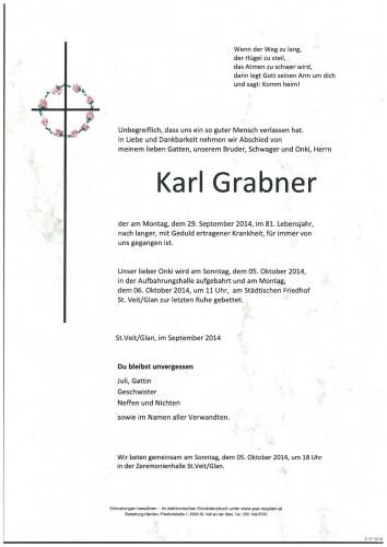 Karl Grabner