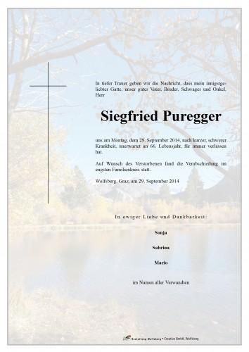 Siegfried Puregger