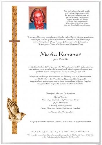 Maria Kummer