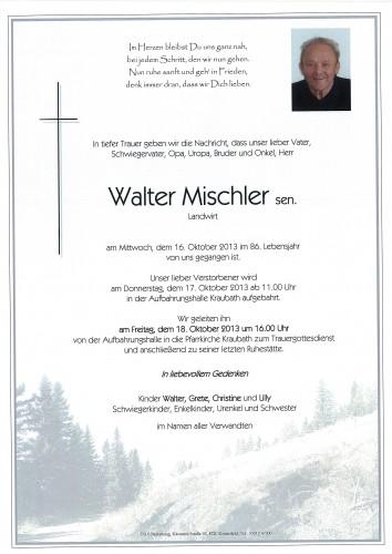 Walter Mischler