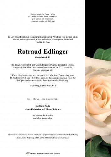 Rotraud Edlinger