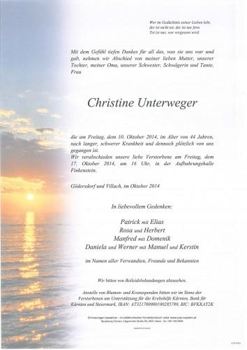 Christine Unterweger