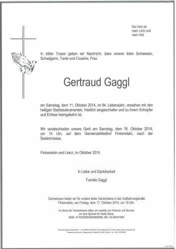 Gertraud Gaggl