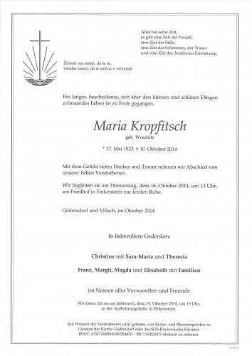 Maria Kropfitsch