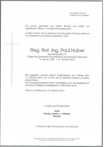 Ing. Paul Kurt Huber