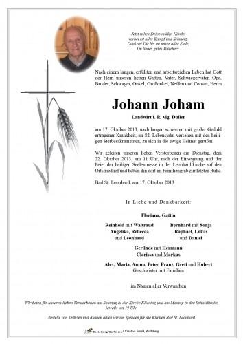 Johann Joham