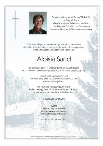 Aloisia Sand