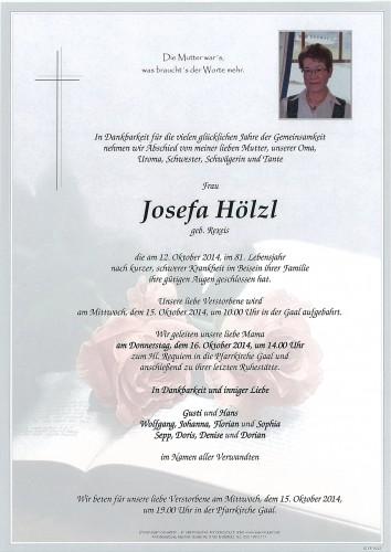 Josefa Hölzl