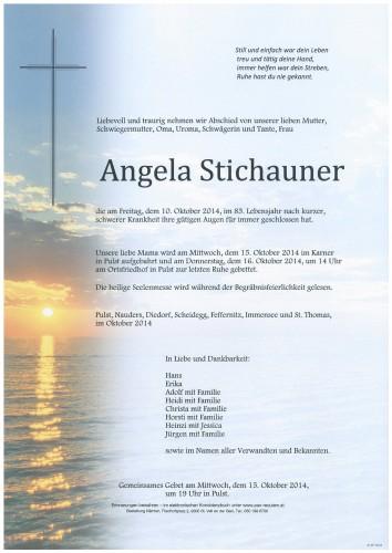 Angela Stichauner
