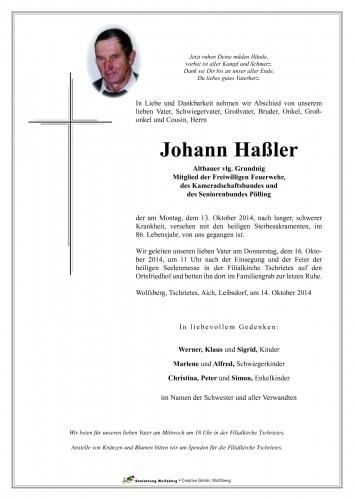 Johann Haßler
