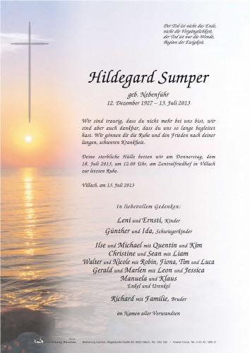 Hildegard Sumper