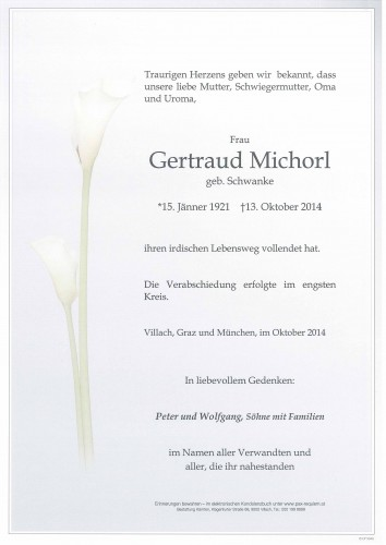 Gertraud Michorl
