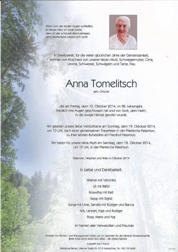 Anna Tomelitsch