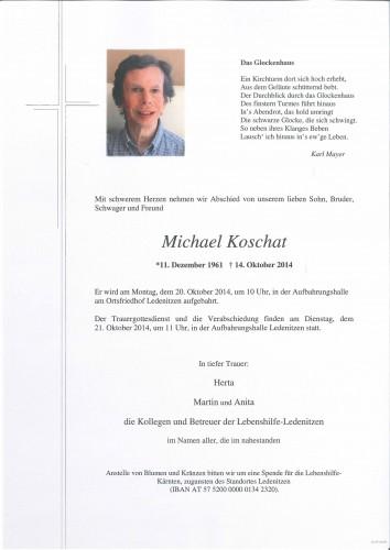 Michael Koschat